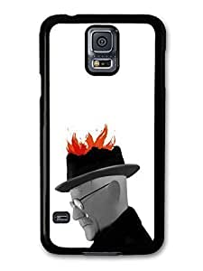 AMAF ? Accessories Breaking Bad Heisenberg Walter White Fire Art case for Samsung Galaxy S5