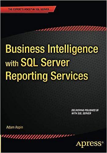 Pro Sql Server 2008 Reporting Services Ebook