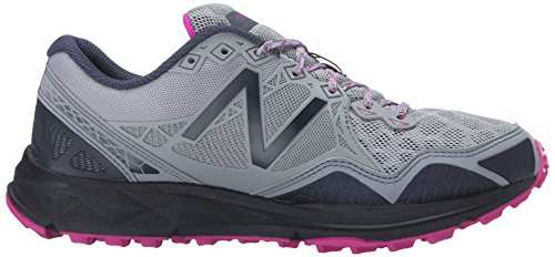 New Balance Women's 910v3 Trail Running Shoe Grey/Purple