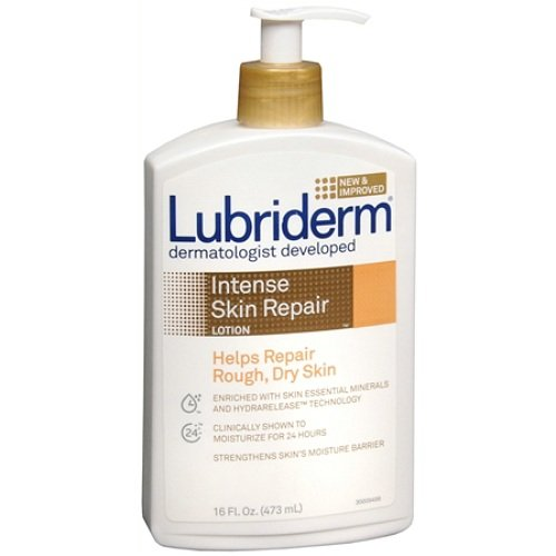 Lubriderm Intense Skin Repair Body Lotion 16 fl oz  Pack of