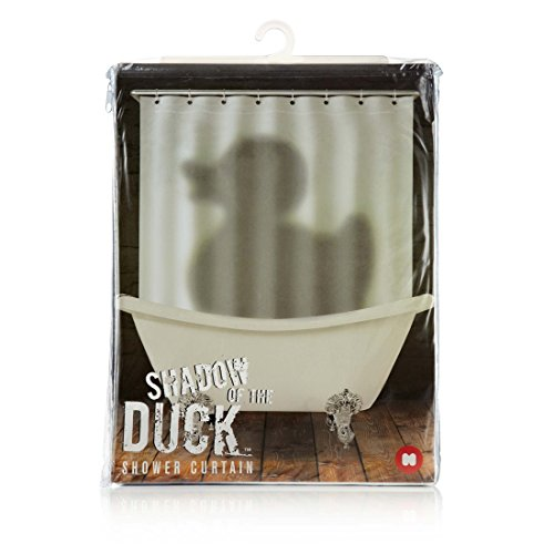 Mustard NG5309 Shower Curtain, Shadow Of The Duck