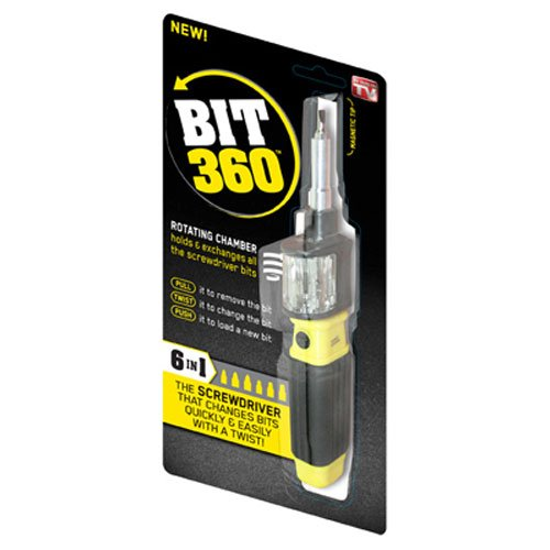 PRIME LINE PRODUCTS BW011124 Bit 360 Screwdriver