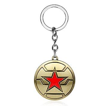 CLEARNICE Llavero Capitán América El Soldado De Invierno ...