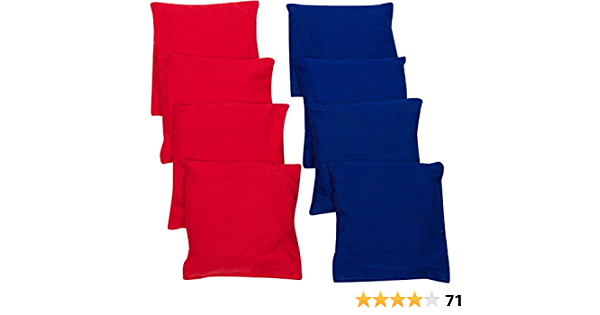 """Details about  /Replacement Bean Bags For Cornhole Includes 8 4/"""" X FREE SHIPPING"""