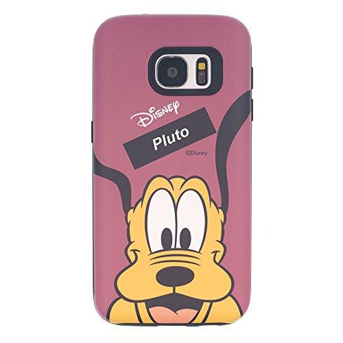 Funda Galaxy S8 [Protección híbrida contra caídas] DISNEY Minnie Mouse Linda Doble Capa Hybrid Carcasas [TPU + PC] Parachoques Cubierta para [ Samsung Galaxy S8 ] - Minnie Mouse Idea Pluto Purple (Galaxy S8)