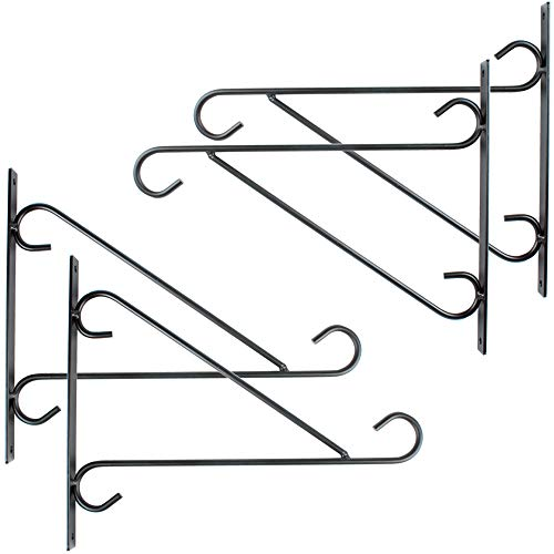 Casolly Plant Hanging Hooks Wall Brackets (10 Inch)
