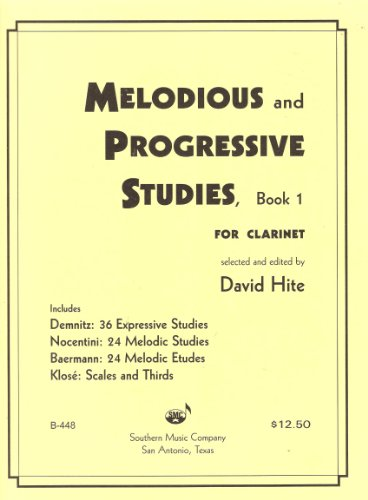 Melodious and Progressive Studies for Clarinet - Book ()
