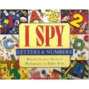 I Spy Letters & Numbers