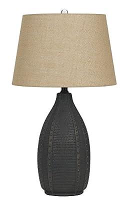Cal Lighting BO-2680TB-2 One Light Table Lamp