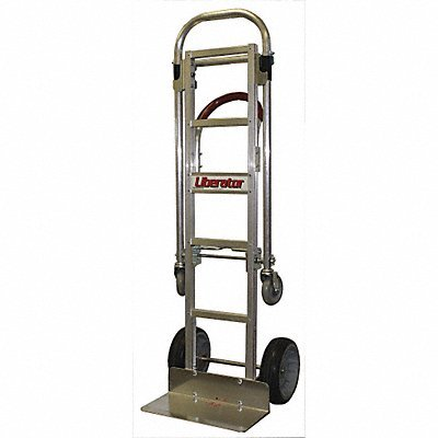 GRAINGER APPROVED Convertible Hand Truck Polyurethane ()