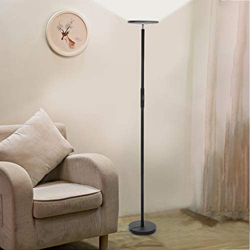 Floor Lamp,HSada 67″ Modern LED Torchiere Floor Lamp