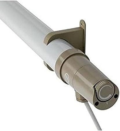 Sunhouse shtth1 Radiateur tubulaire 40/W avec thermostat int/égr/é et c/âble UK /à 3/broches 1,5/m