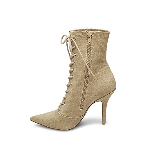 Steve 0 8 Madden Dress Women's Us Bootie Kisses Tan 1B1Ow
