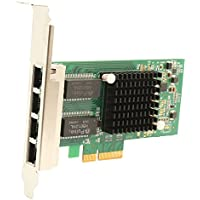 I/O Crest SY-PEX24045 IO Port Gigabit Ethernet Intel i350-AM4 Chipset PCI-E X4 Network Interface Card