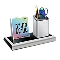 Desk Digital LED Electronic Alarm Clock ...