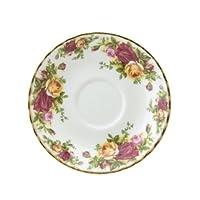 Royal Albert Old Country Roses - Sopa de crema, platillo de 6-1 /2 onzas