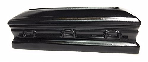 Casket Business Card Holder - Black