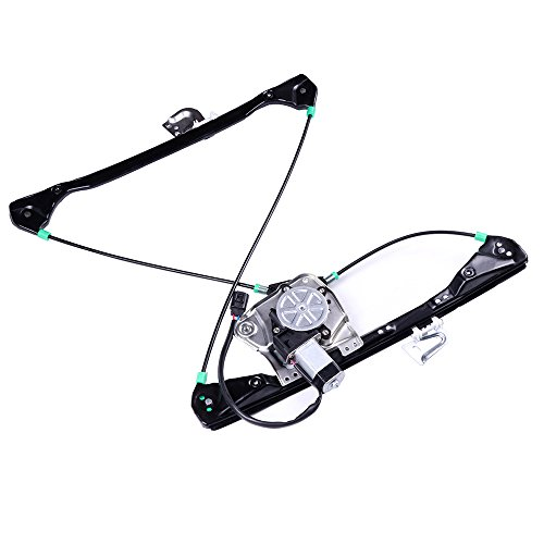 Power Window Lift Regulator on Front Right Passengers Side with Motor Assembly Replacement for 1999-2005 Pontiac Grand Am 4 Door 1999-2004 Oldsmobile Alero 4 - Regulator Pontiac Front