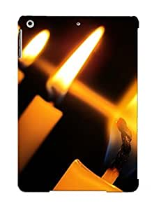 Hot Burning Candles First Grade Tpu Phone Case For Ipad Air Case Cover