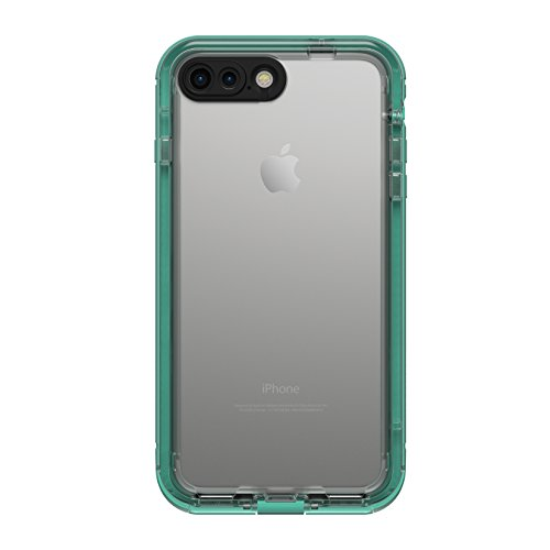 LifeProof NÜÜD SERIES Waterproof Case for iPhone 7 Plus (ONLY) - Retail Packaging - MERMAID (SOFT MINT/TALISIDE TEAL/CLEAR) (Nuud Iphone 5 Case)