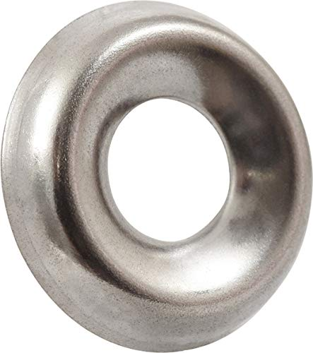 (The Hillman Group 2906 Number-8 Stainless Steel Finish Washer, 40-Pack)