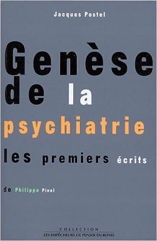 Téléchargement Gratuit Debooks En Pdf Genese De La Psychiatrie