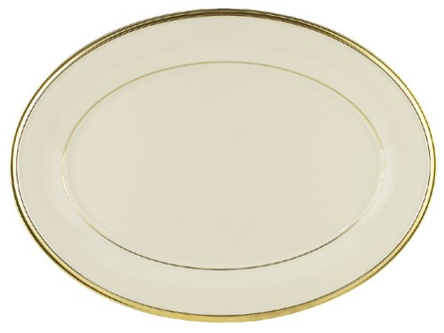Lenox Eternal 16-Inch Fine China Oval Platter ()