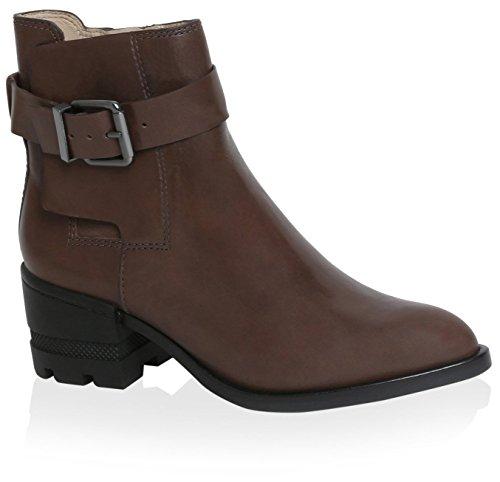 Espinosa Women's Boot Carolina Leather Conner Brown 8qdv5w