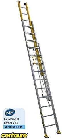 Centaure – Escalera corredera combinada con cuerdas 3 x 13 haut. acceso 9,80 M – C3 Mix: Amazon.es: Bricolaje y herramientas