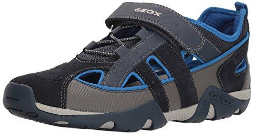 Geox Boys' Aragon 11 Sandal Navy/Royal 24 M EU Toddler (8 US)