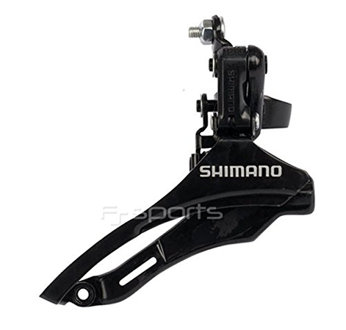 YAD Shimano Tourney Front Derailleur 6/7Speed Triple 31.8mm Down Swing Bottom Pull - (Down Pull)