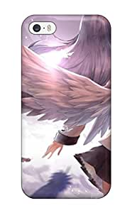 Iphone 5/5s Case Cover Skin : Premium High Quality Angel Beats Case