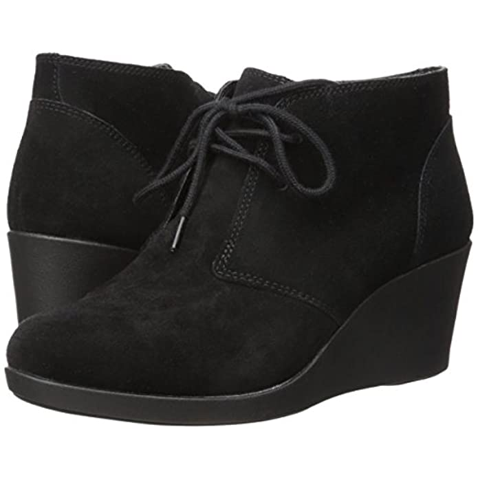 Crocs - Leigh Suede Wedge Shootie Black