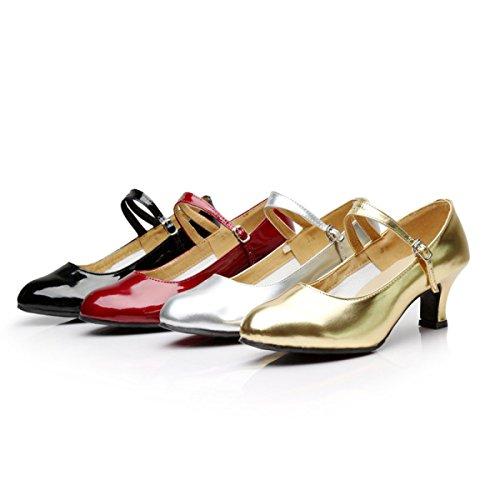 Ragazza Latino Scarpe Della Colori Sandali altri Shoe Dance Delle Satin silver 39 Med Salsa Professionista Ballroom Superiore Donne 5q5rxBgtw