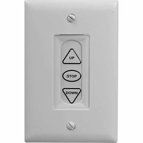 Da-Lite 40975 Extra Three Button Low Voltage Control Switch Da Lite Low Voltage Switch