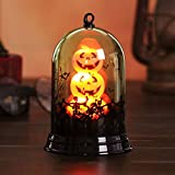 Shan-S Halloween Glass Decoration,Happy Halloween