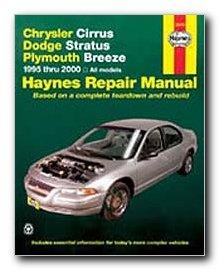 haynes repair manual chrysler cirrus dodge stratus and plymouth rh amazon com