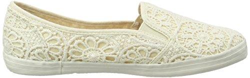 Evans Extra Donna Avorio Sneaker Cream Ivory 06 Wide 71dTrSqw7