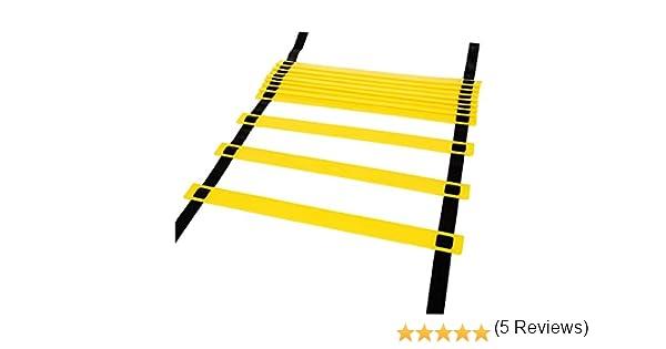 Hikpro Escalera de Entrenamiento de 6 metros con 12 peldaños para ...