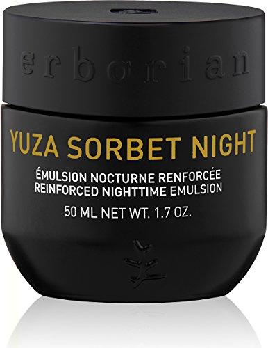 Yuza Sorbet Night Reinforced Nighttime Emulsion by Erborian for Women - 1.7 oz Emulsion