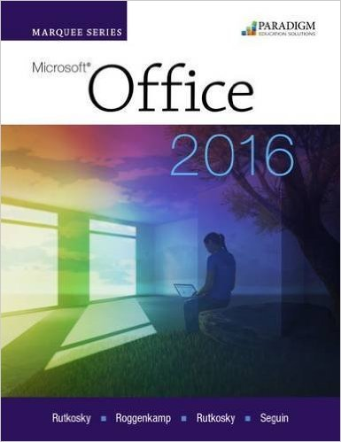 Read Online Marquee Series: Microsoft Office 2016 - eBook ebook