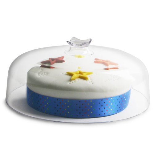 Clear Dome Board Topper 26cm | Cake Dome, Cheese Dome, Food Cover Drinkstuff