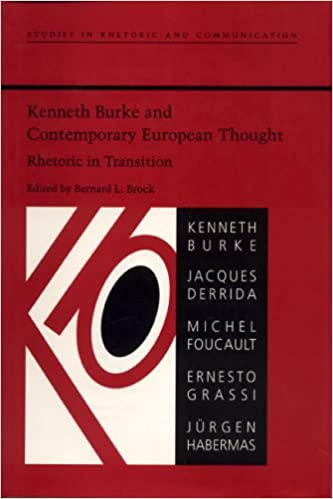 Amazon Kenneth Burke And Contemporary European Thought