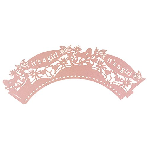 50pcs Muffin Wrapper Trays Decoration
