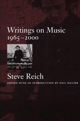 Writings on Music, 1965-2000