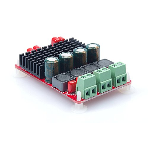 1PCS TPA3116 Dual Channel 50W 2 Digital Amplifier Board PBTL 100W Mono High Power Amplifier Module by Dong Yu Yuan