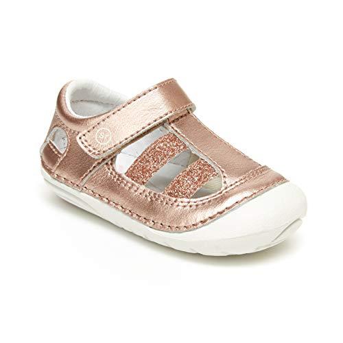 Stride Rite Soft Motion Aurora Girl's Sandal, Rose Gold 4.5 M US Big Kid