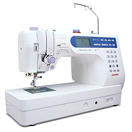 Janome 6500, big machine, nice upgrade