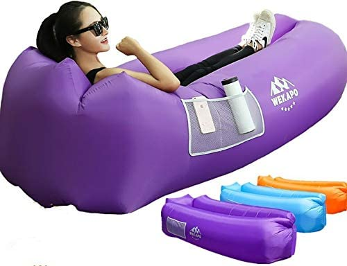 WEKAPO Inflatable Lounger Air Sofa Hammock-Portable