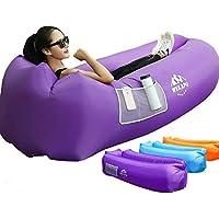 Wekapo Inflatable Lounger Air Sofa Hammock-Portable,Water Proof& Anti-Air Leaking...